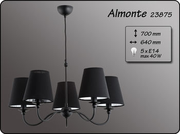 купить 23875 Люстра  Almonte 5л в Кишинёве