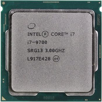 Intel® Core™ i7 9700, S1151, 3.0-4.7GHz (8C/8T), 12MB Cache, Intel® UHD Graphics 630, 14nm 65W, tray