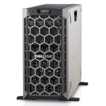 "Dell PowerEdge T440 Tower, Intel Xeon Silver 4110 (2.1GHz, 8C/16T, 11M, 85W), 16GB RDIMM 2666MT/s, 4TB 7.2K NLSAS 12Gbps 3.5in Hot-plug HDD (up to 8х3,5"" Hot Plug HDD), PERC H730З RAID, iDRAC9 Enterprise, Dual 1GBE LAN, Dual Hot-plug PSU (1+1) 750W"