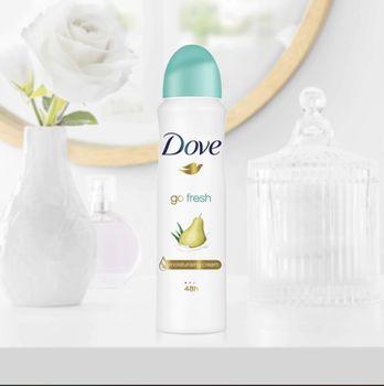 Антиперспирант Dove Go Fresh с ароматом груши и алоэ вера, 150 мл.