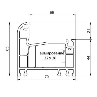 """купить """"Montblanc"""" Quadro Рама (70мм, 2.5мм, Класс Б) с РЕЗИНОЙ в Кишинёве"""