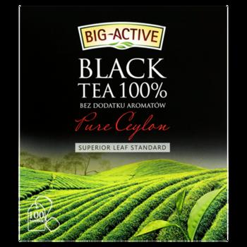 купить Чай черный  Big Active Pure Ceylon, 100 шт в Кишинёве