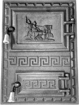 Дверь GREC для печи