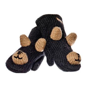 cumpără Manusi adulti Knitwits Babu The Black Bear Mittens, A2379 în Chișinău