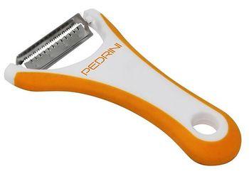 Нож для чистки овощей Gadget Lillo, фигурное лезвие (оранж)