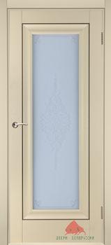 купить Дверь Стиль матовая ваниль остекленная в Кишинёве
