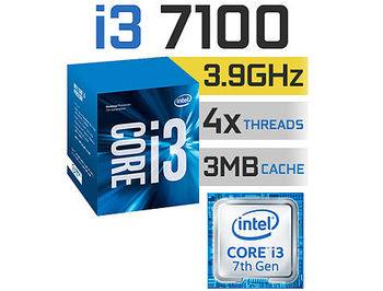 Процессор CPU Intel Core i3-7100 3.9GHz Dual Core, (LGA1151, 3.9GHz, 3MB, Intel HD Graphics 630) BOX (procesor/процессор)
