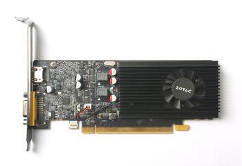 ZOTAC GeForce GT 1030 2GB GDDR5, 64bit, 1468/6008Mhz, Single Fan, HDCP, VGA, HDMI, Low Profile, 1*LP bracket included, Lite Pack