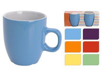 Чашки керамические 2шт, разных цветов