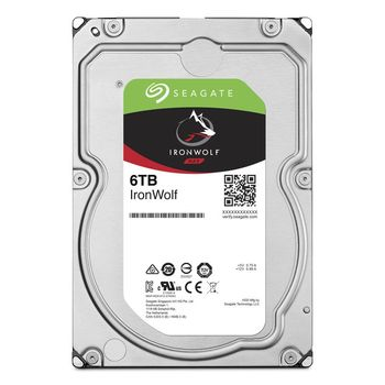 """3.5"""" HDD 6.0TB  Seagate ST6000VN001  IronWolf™ NAS, 5400rpm, 256MB, SATAIII"""