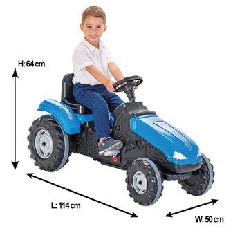 купить Pilsan Трактор с педалями Mega в Кишинёве
