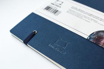 Скетчбук Малевичъ для графики Graf'Art, синий, 150 гм, 19х19, 20л