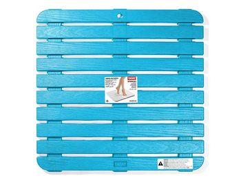 Настил для душа Tatay 55X55X3cm голубой, пластик
