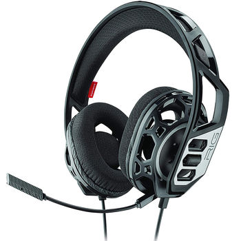 Plantronics Rig 300HC Gaming Headset, Microphone noise-canceling, output 20 Hz–20 kHz, Mic 100 Hz–10 kHz