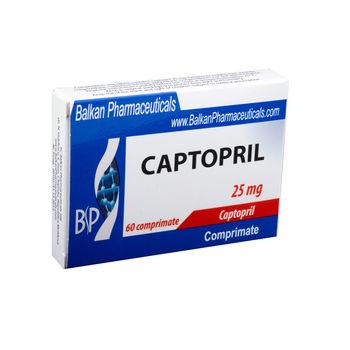 cumpără Captopril 25mg comp. N20x3 în Chișinău