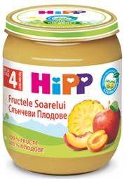 купить Hipp пюре солнечные фрукты, 4 мес, 125 гр в Кишинёве