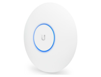 Ubiquiti UniFi AP AC PRO, Indoor/outdoor Access Point 2.4/5GHz, 802.11 b/g/n/ac, Int. Ant. Omni 3x3 MIMO, 450/1300 Mbps,Managed, Wireless Security:WEP,WPA-PSK,WPA-TKIP, WPA2 AES, 802.11i, 802.3af PoE, 802.3at PoE+, Range 122m, UAP-AC-PRO