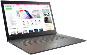 "cumpără Lenovo IdeaPad 320-17IKB Onyx Black 17.3"" HD+ (Intel® Core™ i3-7100U up to 2.40GHz (Kaby Lake), 4GB DDR4 RAM, 500Gb HDD, GeForce® 920MX 2Gb, DVDRW, CardReader, WiFi-N/BT4.1, 0.3M WebCam, 2cell, RUS, DOS, 2.2kg) în Chișinău"
