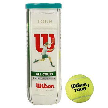 cumpără Minge tenis mare WILSON TOUR ALL COURT (set 3 mingi) WRT106300 (3565) în Chișinău