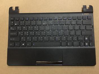 Keyboard Asus EeePC X101 w/cover ENG/RU Black