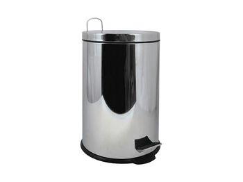 Ведро для мусора с педалью MSV Briliant 3l, нерж сталь