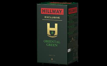 Зеленый чай Hillway Oriental Green, 25x2г