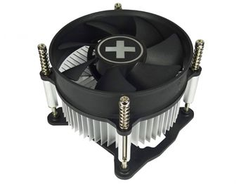 "XILENCE Cooler XC030 ""I200"", Socket 1150/1151/1155/ up to 65W, 100x100x25mm, 2200rpm, <25dBA, 40.9CFM, 3pins, Screw&Back Plate inst., Aluminium Heatsink, Bulk (45pcs/box)"