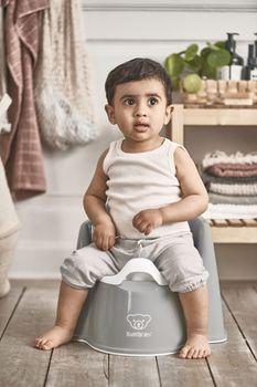 купить Горшок-кресло BabyBjorn Potty Chair White в Кишинёве