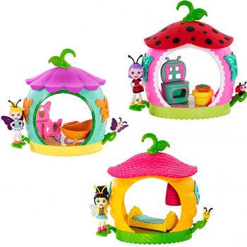Set de camere mini păpuși Enchantimals, cod FXM96