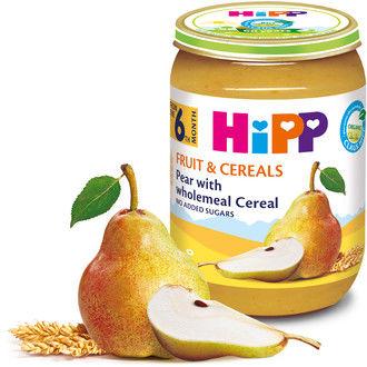 cumpără Hipp piure din pară şi cereale integrale, 6+ luni ,190 gr în Chișinău
