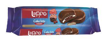 """Печенье сэндвич """"Luppo Cake Bite Cherry"""" 184г"""