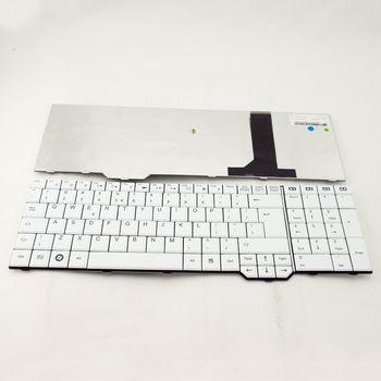 Keyboard Fujitsu Amilo Li3910 XA3530 Pi3625 Xi3670 XI3650 XA3520 ENG. White