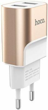 Зарядное устройство Hoco C47A Gold