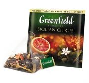Чай Greenfield Sicilian Citrus