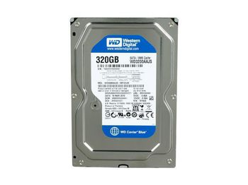 "купить 3.5"" HDD 320GB  Western Digital WD3200AAJS Caviar® Blue™, 7200rpm, 8Mb, SATAII в Кишинёве"