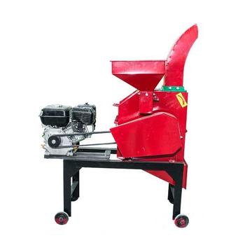 Измельчитель кормов и зерна МС-400-24 (с бензиновым двигателем)
