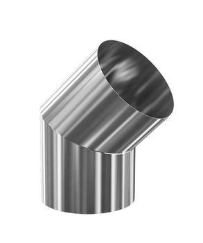 купить Отвод дымохода dn115 х 45° (135°) 0.8 мм FERRUM  ES в Кишинёве