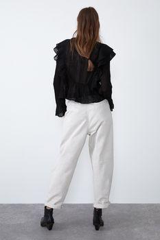Блуза ZARA Чёрный zara 0881/133/800