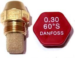 купить Форсунка OD для горелки, производительность 0,3 US, Gal/h, угол распыла 60 градусов, рисунок распыла S (сплошной) в Кишинёве