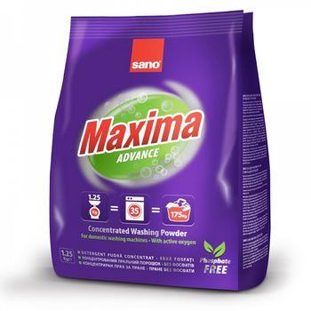 купить Sano Maxima Advance Стиральный порошок (1,25 кг) 935314 в Кишинёве