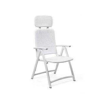 Кресло складное Nardi ACQUAMARINA BIANCO 40314.00.000 (Кресло складное для сада и террасы)