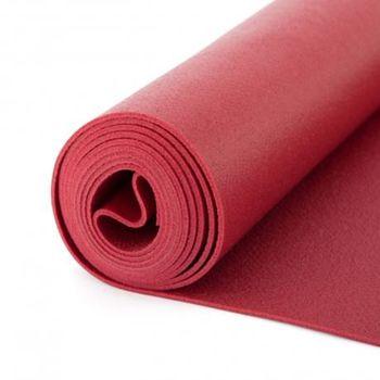 Коврик для йоги Bodhi Rishikesh Premium 60 BURGUNDY -4.5мм