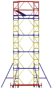 купить Передвижная модульная вышка ВСР (0,7x2,0) 1+5 в Кишинёве