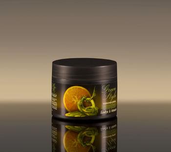 купить Стимулирующая маска-уход «Бамбук&Апельсин» для придания блеска тусклым волосам Green Style в Кишинёве