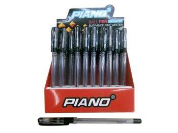 Ручка гелевая PT-111 soft ink 0.7mm, черная