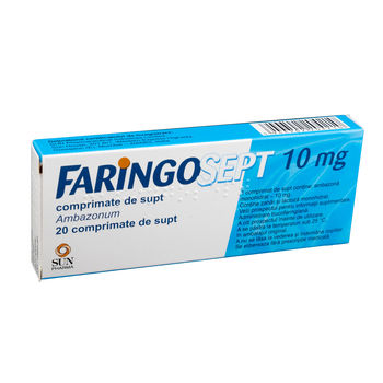 cumpără Faringosept 10mg comp. de supt N20 în Chișinău