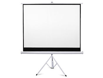 "Tripod Projection Screen FS-TS 1:1, 70"" x 70"" / 178cm x 178cm, Matte White"
