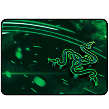 RAZER Mouse Pad Goliathus Cosmic Edition Speed Small (RZ02-01910100-R3M1), Slick, taut weave for speedy mouse, Dimensions: 270 x 215 x 3 mm, Anti-fraying stitched frame