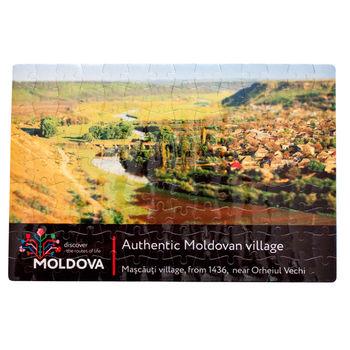 cumpără Puzzle A4 – Sat autentic moldovenesc în Chișinău