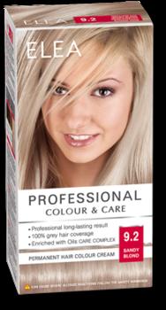 Vopsea p/u păr, SOLVEX Elea, 138 ml., 9.2 - Blond nisipiu